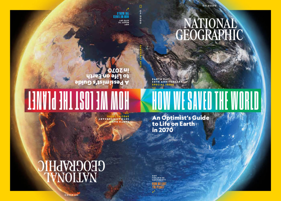April 2020 cover of National Geographic