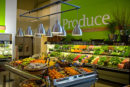produce store showing fruit and vegetables