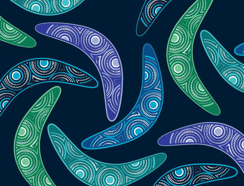 Artwork was created for our reconciliation action plan.