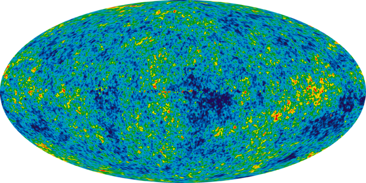 Remnants of the conditions in the early universe