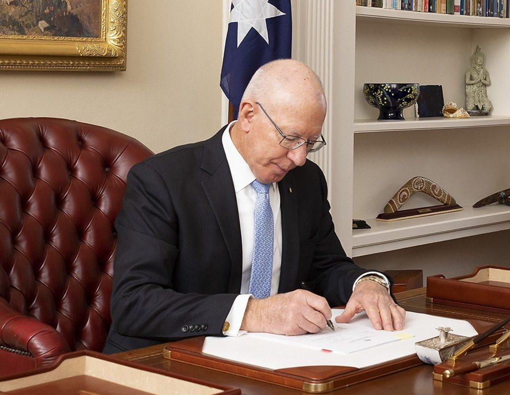 The Australian Ambassador to Italy signed the Convention.
