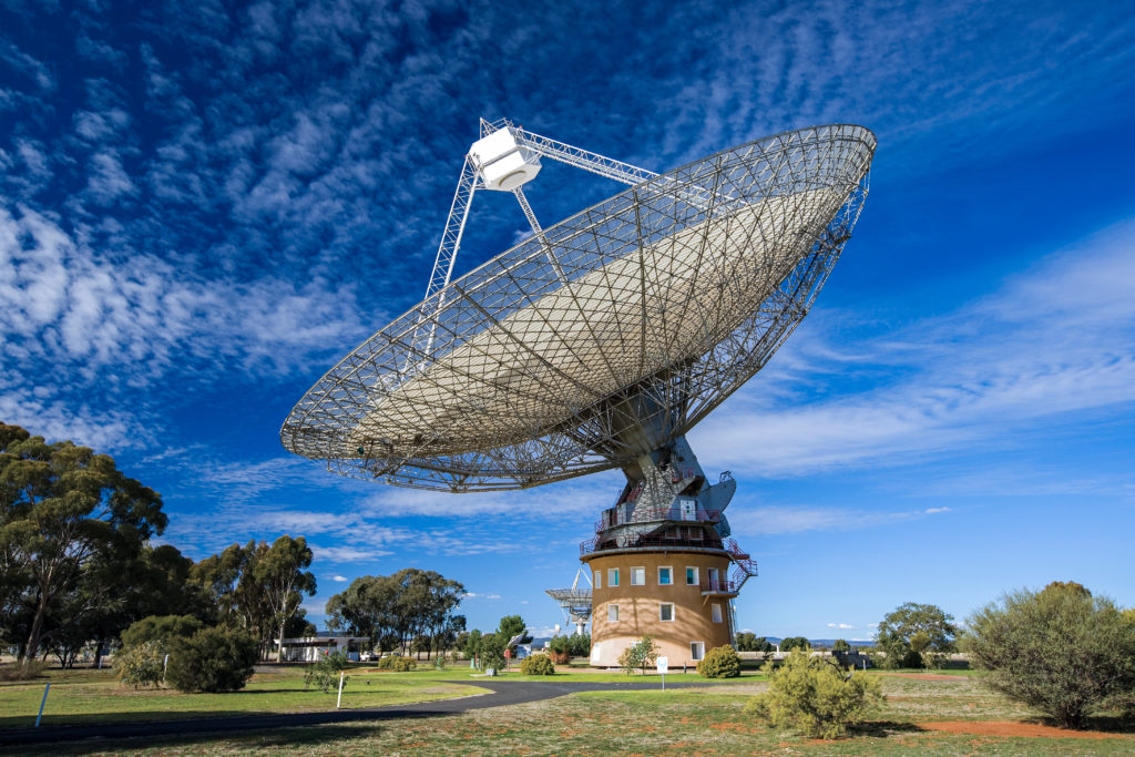 Wiradjuri Elders gave the 64-metre telescope a traditional Indigenous name during NAIDOC Week.