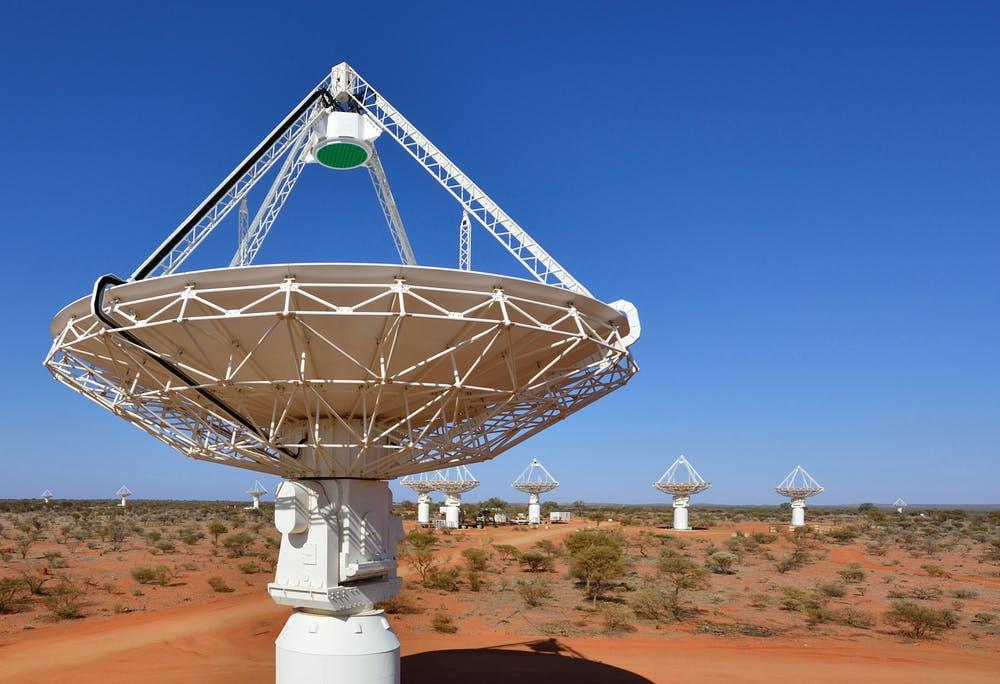 Satellite used to detect fast radio bursts.