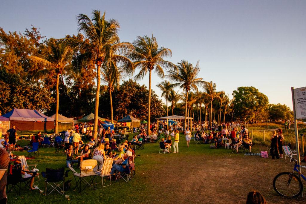 Mindil Beach Markets, Mindil, Darwin, improving Darwin's parks
