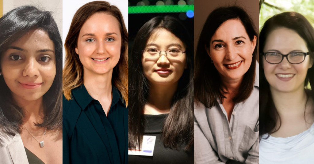 Five researchers from CSIRO's Data61.