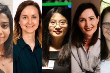 Five Women in STEM from CSIRO's Data61.