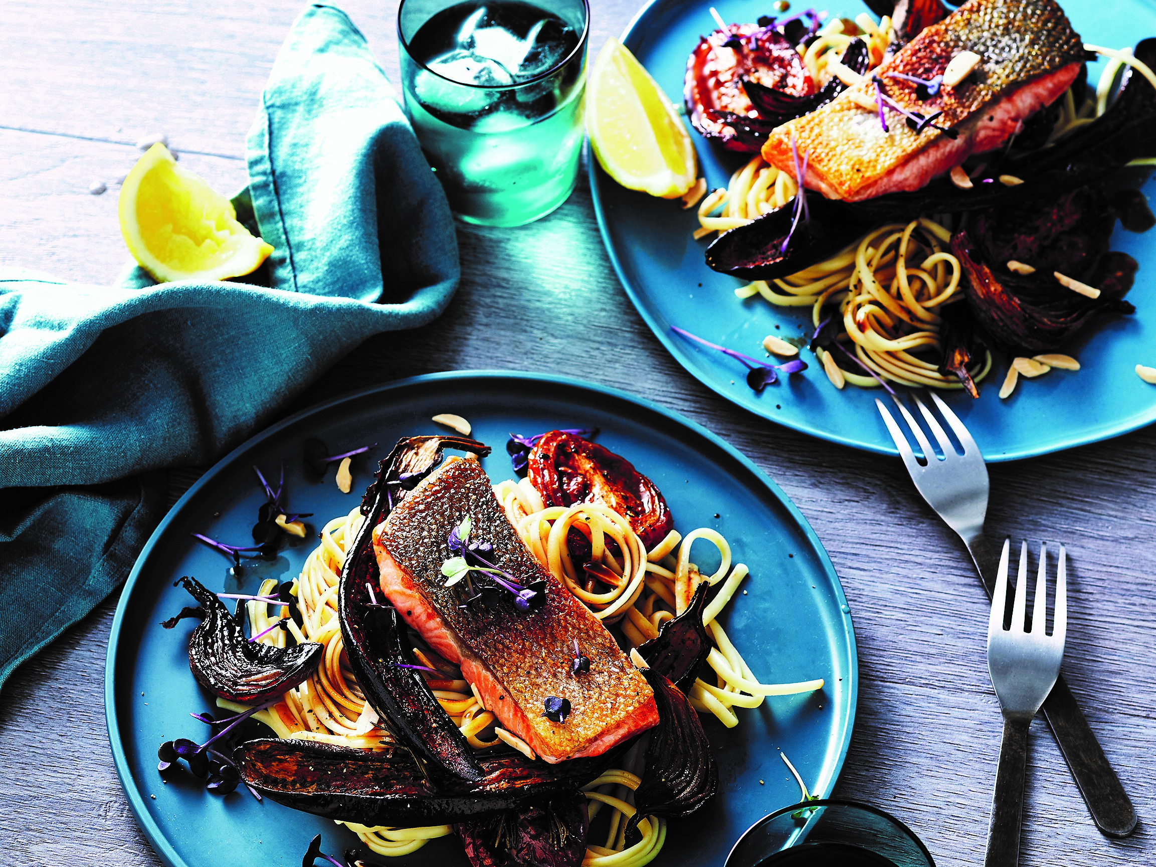 A plate of salmon from the CSIRO Women's Health and Nutrition Guide