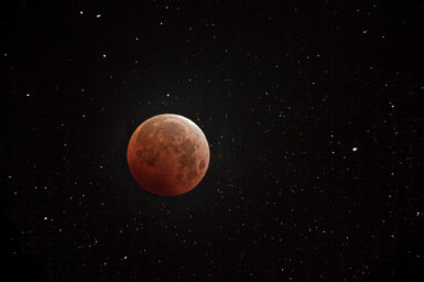 supermoon and total lunar eclipse from May 2021