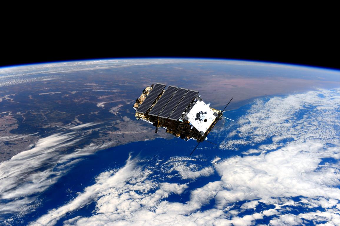 A NovaSAR-1 satellite